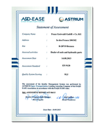 Gottwald-GmbH-Co-KG-Hydraulik-Dichtungstechnik-Industriebedarf-Bremen-Zertifikat-ASD-EADS-EN9120-klein